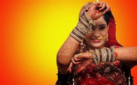 Bridal wedding make up of Indian girl   Beautiful hd wallpaper