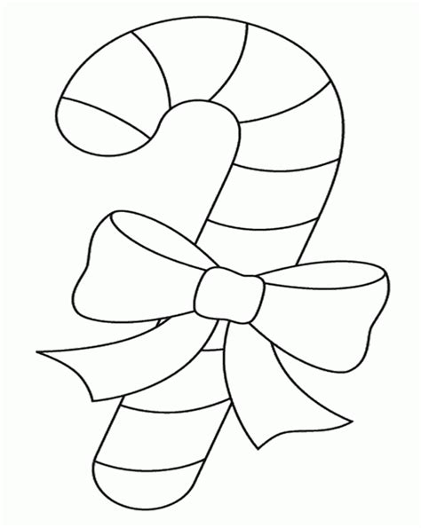 christmas candy coloring pages coloring home