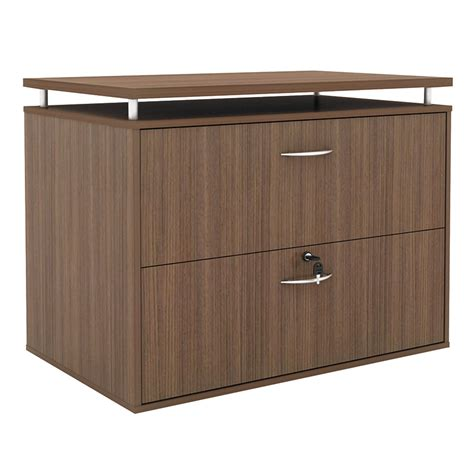 Walnut Lateral File Cabinet Modern Walnut Lateral File Cabinet Eurway