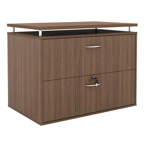 Skye Modern Walnut Lateral File Cabinet Eurway Walnut Lateral File Cabinet