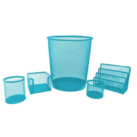 Turquoise Desk Accessories Turquoise Desk Accessories Aqua Poppin Office Desktop Collection Everything Turquoise