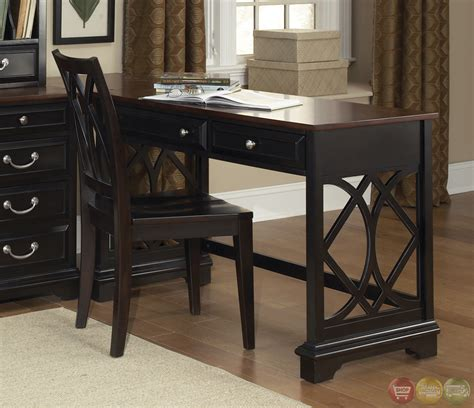 st ives traditional  shaped home office furniture set