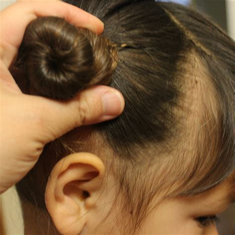 Chinese Bun Hairstyles | traditional chinese children s hairstyle two buns on the