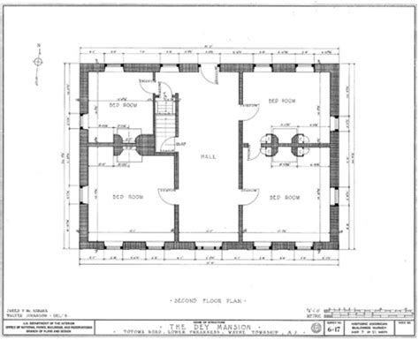 wayne manor floor plan second floor plan of dey mansion in wayne new jersey
