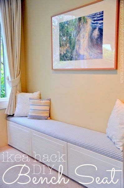 ikea window seat hack best 25 ikea hack bench ideas on pinterest