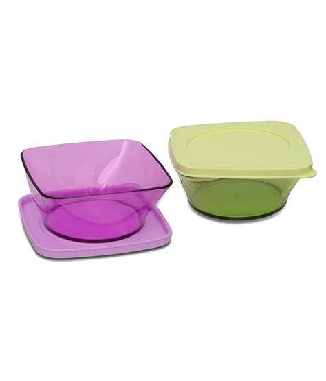 clear square bowl 1pc tupperware tupperware clear square serving bowl 620 ml buy