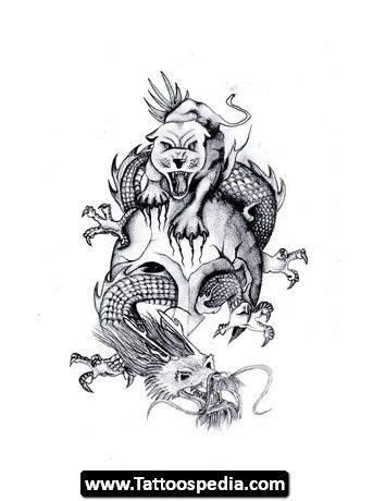 chinese dragon and tiger tattoo designs tiger 01 design ideas tiger and