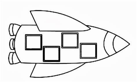 figuras geometricas espaciales dibujos de naves espaciales para colorear