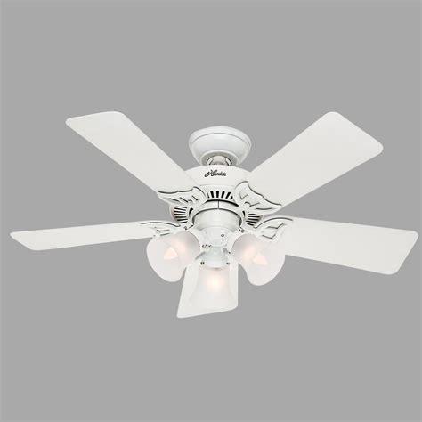 hunter breeze ceiling fans hunter southern breeze 42 in indoor white ceiling fan