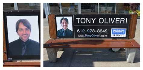 bus bench lawyer faces of real estate phildesignart