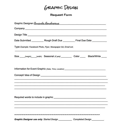design form pdf graphic design request form boudreaux s news