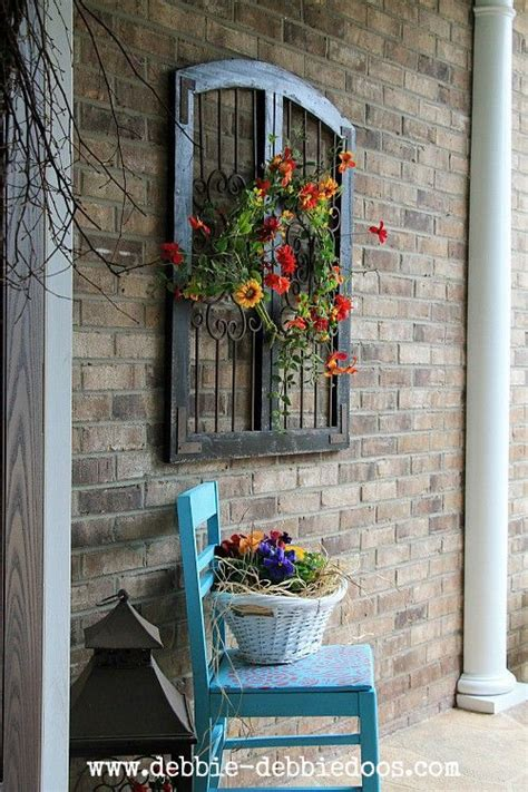 Outdoor Home Wall Decor by 25 Best Ideas About Patio Wall Decor On