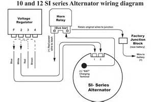 3 wire delco alternator wiring diagram