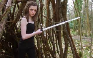 Galerry Maisie Williams the actress who portrays Arya Stark on Game of