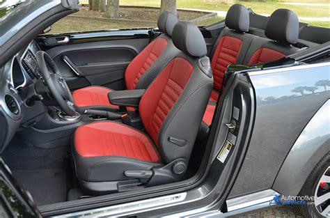 volkswagen beetle convertible interior 2015 volkswagen beetle convertible r line spin