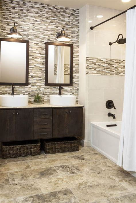 bathroom tile wall ideas 35 grey brown bathroom tiles ideas and pictures