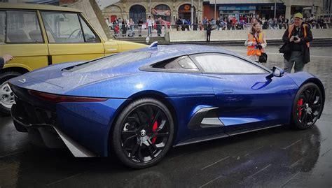 Blus Jaguar spotlight blue jaguar c x75 concept