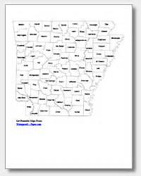 Arkansas County Outline Map by Arkansas Map With Counties And Cities
