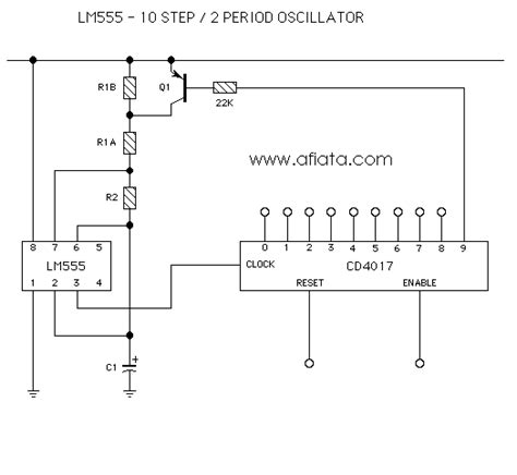 ballast resistor lm3886 circuit oscillator lm555 part 2 electronic circuit diagram and layout