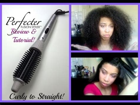 Perfector Hair Styler Qvc by Calista Tools Perfecter Pro Grip Heated Brush B