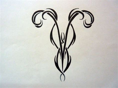51 Best Aries Tattoos Design And Ideas Aries Symbol Designs