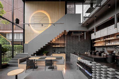 inspirasi desain cafe minimalis kekinian  nyaman