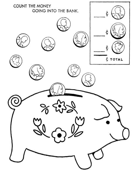coloring page money money color pages coloring home
