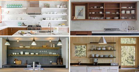 kitchen shelves designs kitchen design idea 19 exles of open shelving