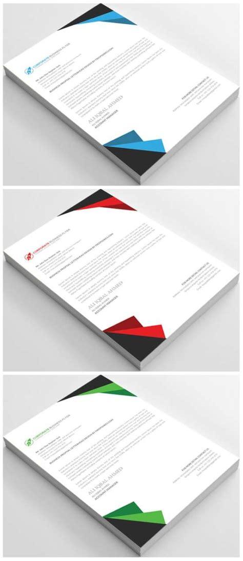 Business Letterhead Psd 15 free letterhead templates xdesigns