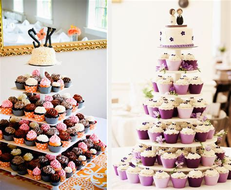 Cupcake Wedding Cake by Cupcake Wedding Cakes Mon Cheri Bridals