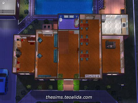 """Home Alone"" movie house   The Sims 2 version   The Sims"