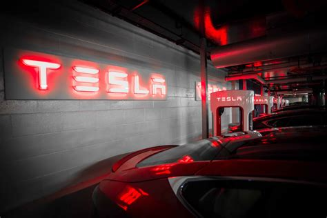 Supercharger Stations For Tesla Tesla Unveils Largest Underground Supercharger Station