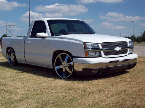 Custom White 03 03 chevy silverado autos post