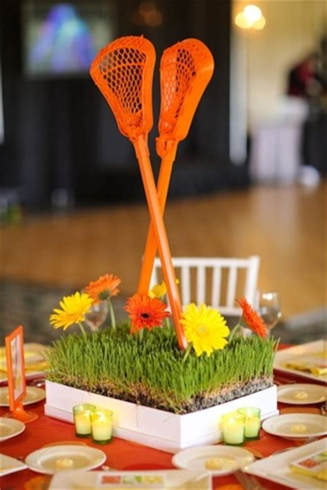 Lacrosse Decorations by Lacrosse Theme Bar And Bat Mitzvah Ideas It Up