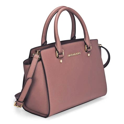 Michael Michael Kors Saratoga Leather Satchel by Michael Kors Selma Leather Satchel Dusty Selma