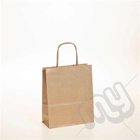 Brown Craft Paper Bags - brown kraft paper bags with twisted handles small x