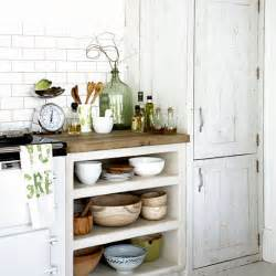 Rustic White Kitchen Pics Photos Rustic White Cabinets