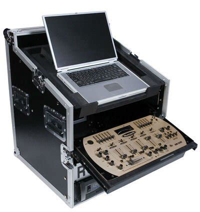 console dj pc casos para el mezclador de dj consola efecto rack laptop