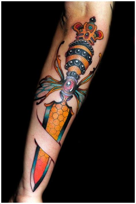 tattoo meaning dagger 30 daggers or knives tattoo designs