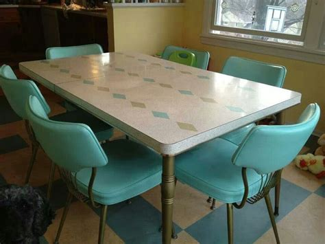 1950s kitchen table and chairs best 25 vintage kitchen tables ideas on