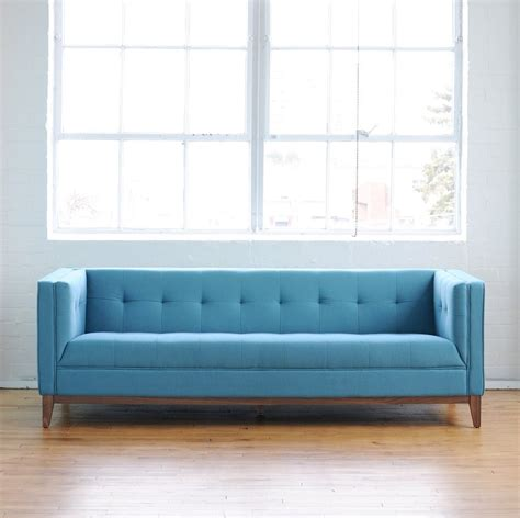 simple modern sofa tufting klippan hack be emerald green with envy
