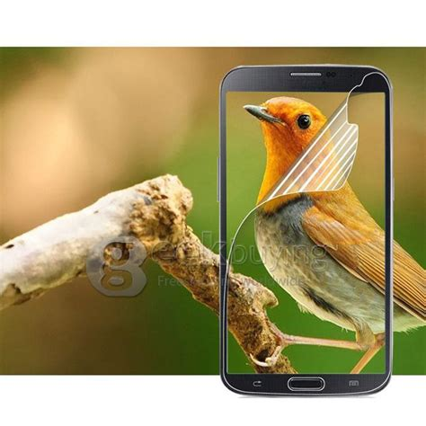 For Samsung Galaxy Mega 6 3 I9200 Clear Hardcase clear transparent screen protector for samsung galaxy mega