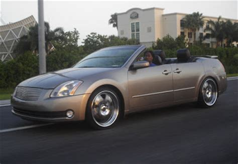 convertible nissan maxima nissan maxima convertible with doors carscoops