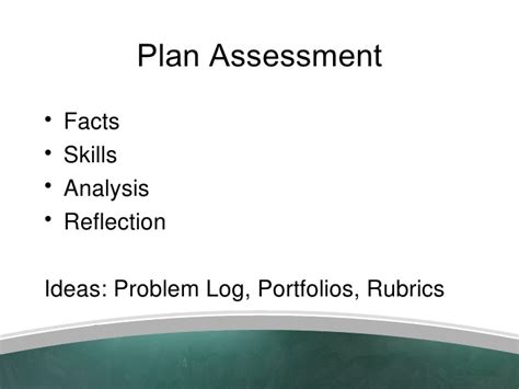 use layout and presentation of learning materials effectively problem based learning