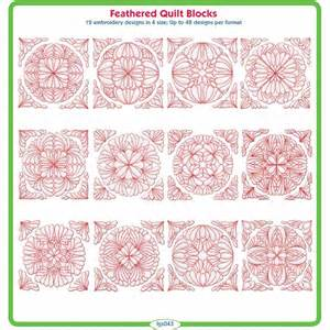 echidnaclub feathered quilt blocks by lindee goodall