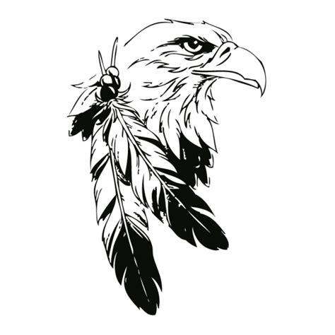 eagle tattoo line art indian eagle wall tattoo silhouette digist bird