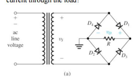 rectifier diode problems solve problem 6 7 problem 6 a wave chegg