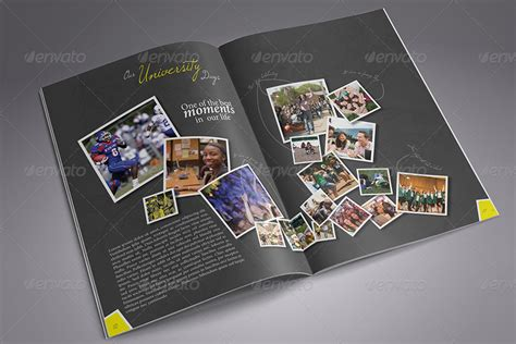 yearbook powerpoint template yearbook templates free image collections template