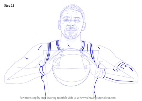 Kyrie 4 Sketches by Learn How To Draw Kyrie Irving Basketball Players Step