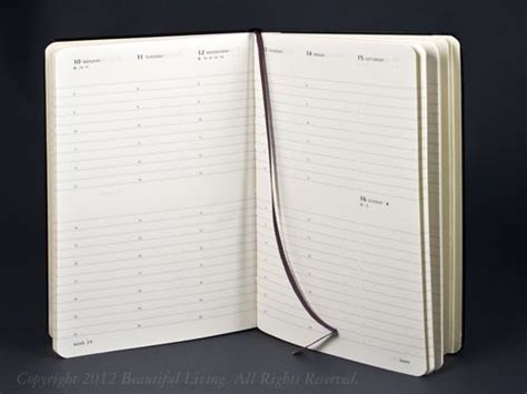 Agenda Note Book weekly planner moleskine and planners on